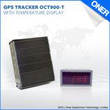 냉장된 차를 위한 온도 보고를 가진 온도 탐지 GPS 추적자