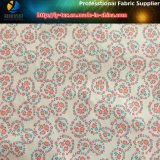 꽃은 재킷을%s 인쇄하는 이동에 있는 50d 폴리에스테 호박단 직물에 인쇄했다