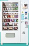 Máquina de venda automática de meias e roupas com frente de vidro