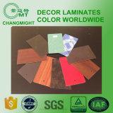 Hojas laminadas Compact / HPL / Formica Hoja de compacto / alta presión Laminado