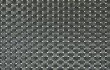 Schwarzes Gewebe Placemat der Farben-8X8 für Tischplatte u. Bodenbelag