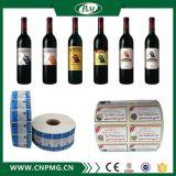 Etiqueta adhesiva impermeable de la alta calidad para las botellas plásticas