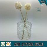 Hoher weißer materieller Aroma-REEDdiffuser- (zerstäuber)glasflasche