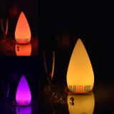 Iluminado à prova d'água, iluminado, LED, flutuante, humor, luz, lâmpada