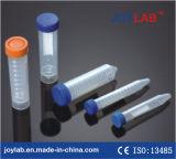 Zentrifuge-Gefäß der Wegwerflaborkonisches Unterseiten-15ml mit Cer-Bescheinigung