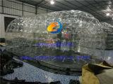 Barraca desobstruída inflável da abóbada do vagem para a exposição