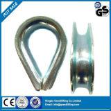 Acier lourd Wire Rope virole Bgalvanized6899 formulaire DIN, virole