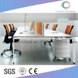 現代家具の木の机のオフィスワークステーション