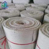 L'aluminium en fibre de céramique de silicate de chiffon avec de fils en acier inoxydable SS, chiffon de fibres de céramique pour la cheminée