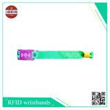 Bracelet RFID avec étiquette PVC souple ou numéro Uid