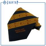 Cravate en soie colorée lumineuse de relation étroite d'homme de logo fait sur commande de bonne qualité