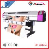 Impressora solvente do cabo flexível da cabeça 3.2m Digitas de Epson Dx5 da impressora de Eco da galáxia a mais barata