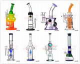 New Design Hbking China Tubos de água de vidro Cheap Oil Oil DAB Rig com lábios coloridos