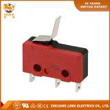 Lema Kw12-15 refoulées levier Micro-commutateur miniature de borne à souder