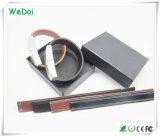 De elegante Aandrijving van de Flits van de Manchet USB van het Leer met Lage Kosten (wy-L01)