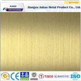 Feuille décorative colorée de l'acier inoxydable 316