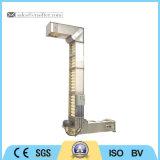 Grau alimentício Vertical tipo corrente de elevador de canecas