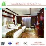 Lit Queen Size moderne hôtel Ensembles de meubles de chambre à coucher avec lit fin tabouret