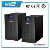 Monofásico onda sinusoidal pura UPS en línea con baterías externas