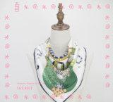 方法印刷の花の中国の絹のスカーフ