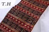 Tissu de jacquard de Chenille d'Uphostery avec la viscose pour la présidence et les meubles