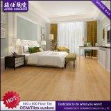 Azulejos de suelo de madera de la mirada de la porcelana de Foshan Juimsi/azulejos rústicos de la pared
