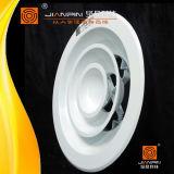 Ventilations-runder Decken-Luft-Diffuser (Zerstäuber) mit Lautstärkeregler-Dämpfer