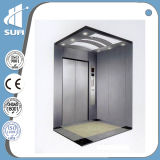 Top quality speed 1.0m/S Stainless Steel pass-narrow elevator