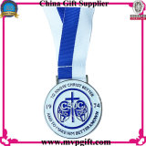 Новое медаль спорта металла с гравировкой логоса клиента 3D