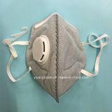 5 respirador disponible del polvo de la capa N95 con el tipo activo de la hebilla del carbón
