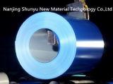 el color azul del espesor de 0.13-1.2m m cubierto galvanizó las bobinas de acero