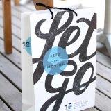 Diseño de encargo de lujo al por mayor de papel plegables reutilizables Bolsas