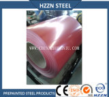 Prepainted鋼鉄コイル(PPGI、赤いカラーRAL3009)