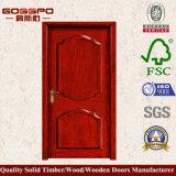 Projeto de madeira interior da porta do quarto de Pooja (GSP2-026)