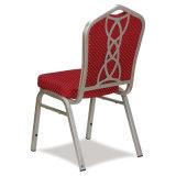 BanquetおよびWeddingホールのためのAluminum Hotel Chairのスタック