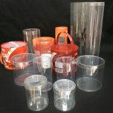 Caixa de cilindro de tubo de plástico de impressão personalizada (caixa redonda)