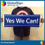 Het Toejuichen van de ventilator Hand - gehouden het Scrollen Banners (ghsc-l)
