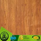 Papel de madeira da grão da alta qualidade como o papel decorativo para o assoalho