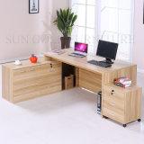 Madera escritorio de oficina moderna Escritorio Ejecutivo / Usado escritorio de la computadora (SZ-ODB362)