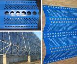 Wind-Schutz-Bildschirm. Wind-Staub-Filetarbeit, Wind-Staub-Netz