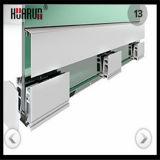 ألومنيوم [أو] قناة يصمّم عمود درابزين ودرز درابزين زجاجيّة ([هر1300و-3])