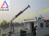 Gru telescopica idraulica elettrica di piccola dimensione della piattaforma di Schang-Hai Enjue