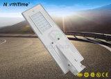 25W einfache straßenlaterneder Installations-IP65 3-Years Solarder garantie-LED