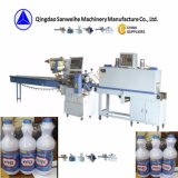 Swc-590 de collectieve Flessen van de Melk krimpen Verpakkende Machine