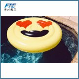 Vlotter van de Pool van Emoji de Reuze Opblaasbare voor Partij