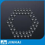(t) pièces solides de petite taille de pompe de lotion de bille en verre de 5mm
