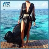 여름 여자 비키니는 수영복 Kaftan 롱비치 복장을 은폐한다