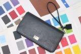 Портмоне перезаряжаемые Notecase перезаряжаемые Burse реального кожаный бумажника перезаряжаемые с беспроволочной внутренностью крена силы (YSX03)