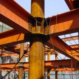 Edificio ligero prefabricado de la estructura de acero