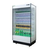 スーパーマーケットの開いた表示クーラーか飲料冷却装置ショーケース